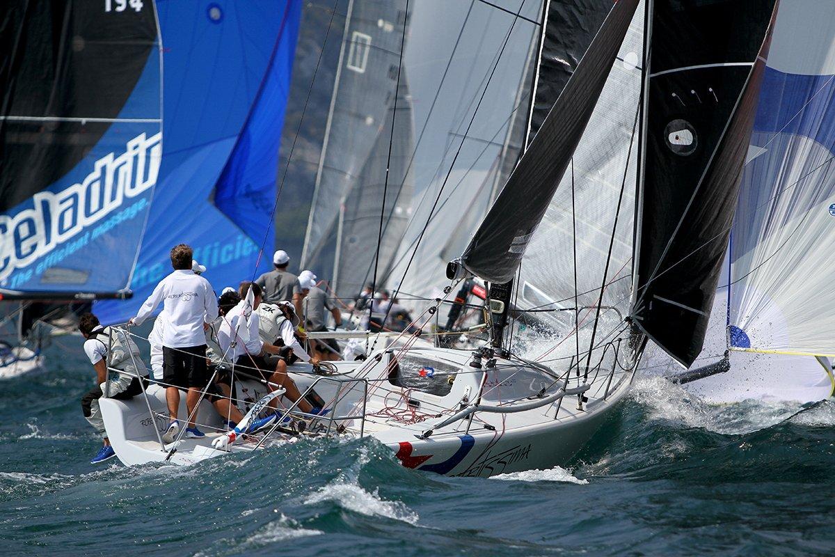 ROBERTISSIMA VINCE IL MELGES 32 AUDI TRON SAILING SERIES - NEWS - Yacht Club Costa Smeralda