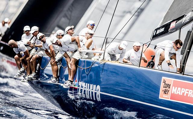 AZZURRA SECONDA ALLA COPA DEL REY CONSOLIDA LA LEADERSHIP NEL CAMPIONATO - NEWS - Yacht Club Costa Smeralda