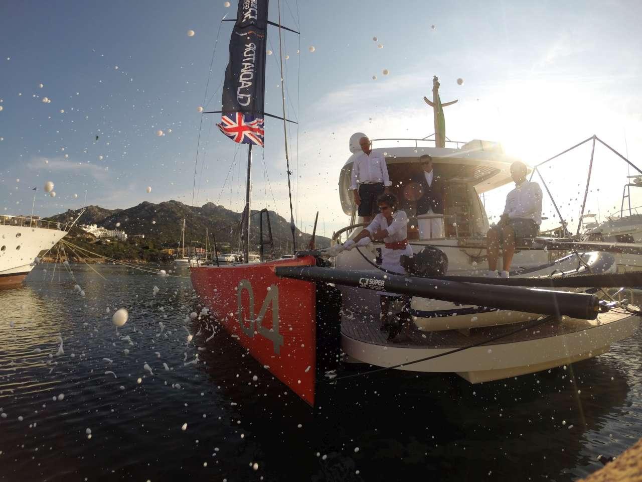 LO YCCS OSPITA IL BATTESIMO DEL NUOVO TP52 GLADIATOR - NEWS - Yacht Club Costa Smeralda