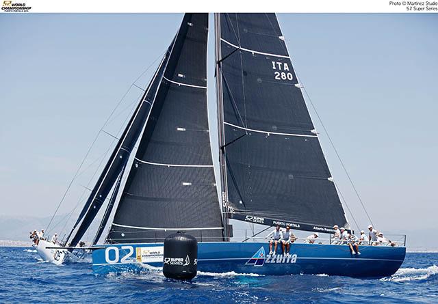 AZZURRA AL VIA DEL MONDIALE TP52 - NEWS - Yacht Club Costa Smeralda