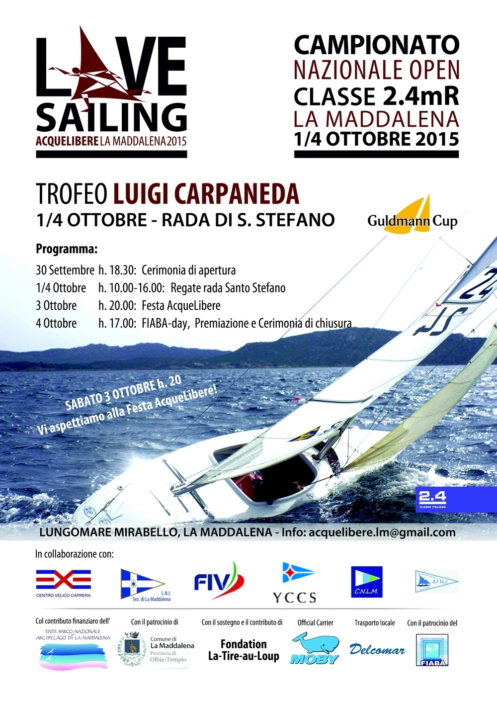 CAMPIONATO NAZIONALE OPEN CLASSE 2.4MR - NEWS - Yacht Club Costa Smeralda