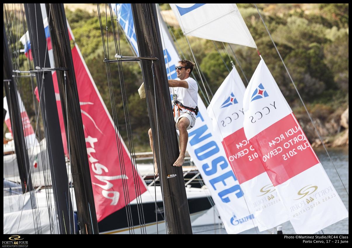 VENTO LEGGERO A PORTO CERVO PER GLI RC44 - NEWS - Yacht Club Costa Smeralda