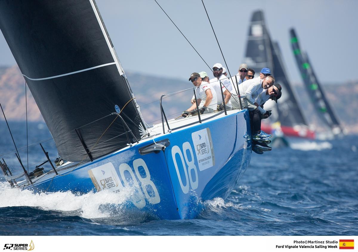 COSTIERA SPETTACOLARE PER I TP52 - NEWS - Yacht Club Costa Smeralda