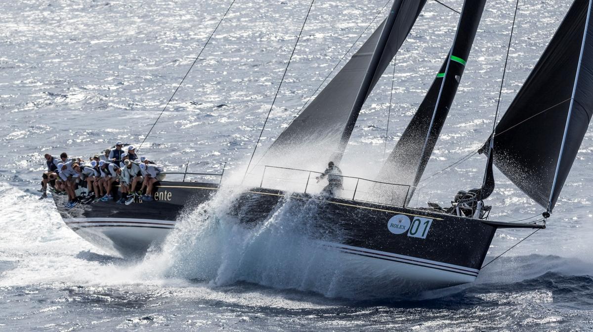 EOLO ANIMA LA SECONDA GIORNATA DELLA MAXI YACHT ROLEX CUP - NEWS - Yacht Club Costa Smeralda