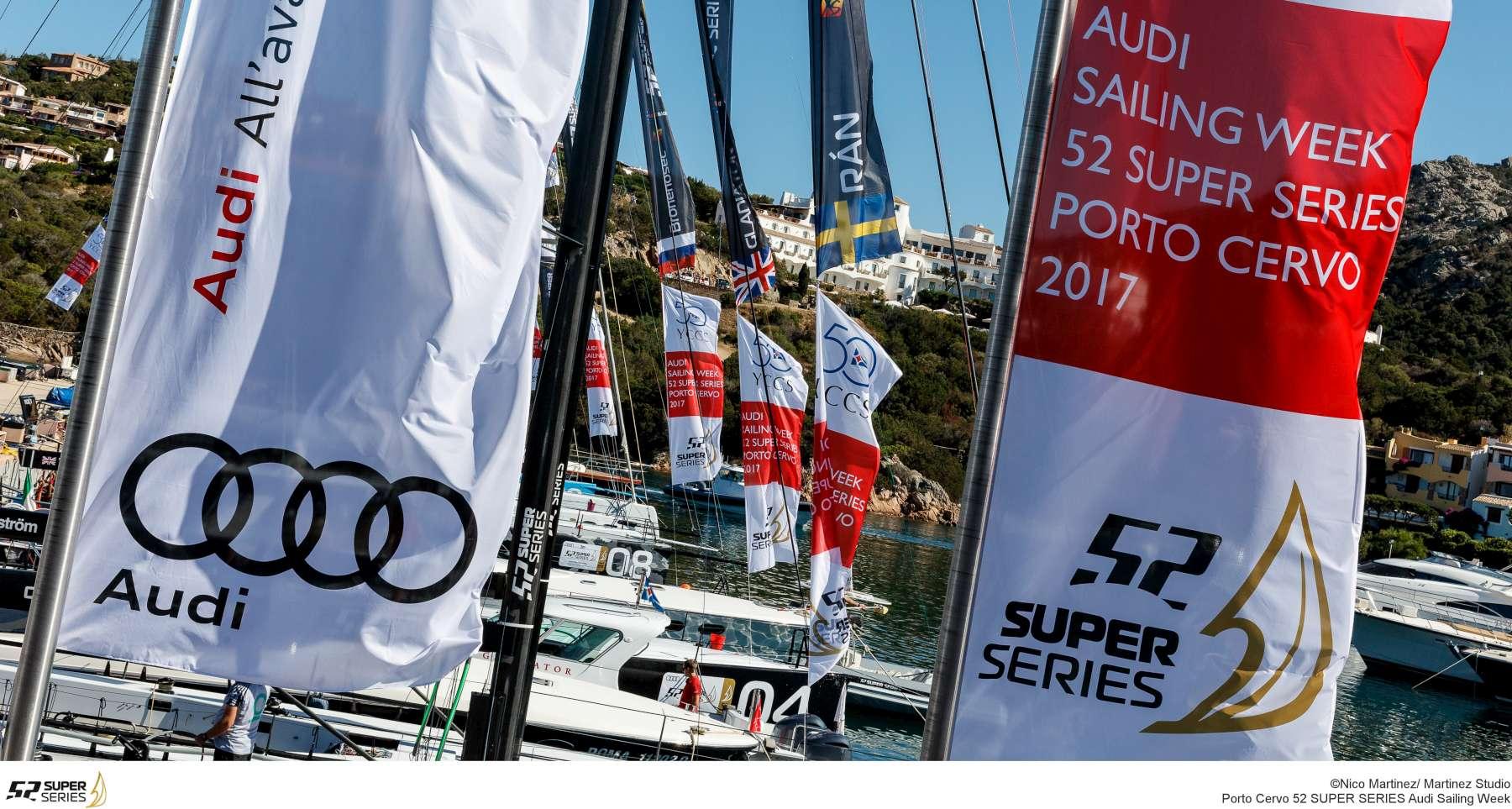 Audi Sailing Week - 52 Super Series  - Porto Cervo 2017
