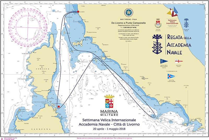 Regata della Accademia Navale - Livorno 2018