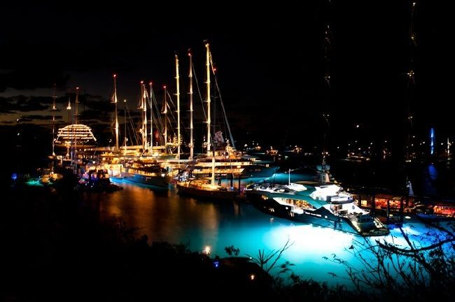 Loro Piana Caribbean Superyacht Regatta and RendezVous - Virgin Gorda, BVI 2012