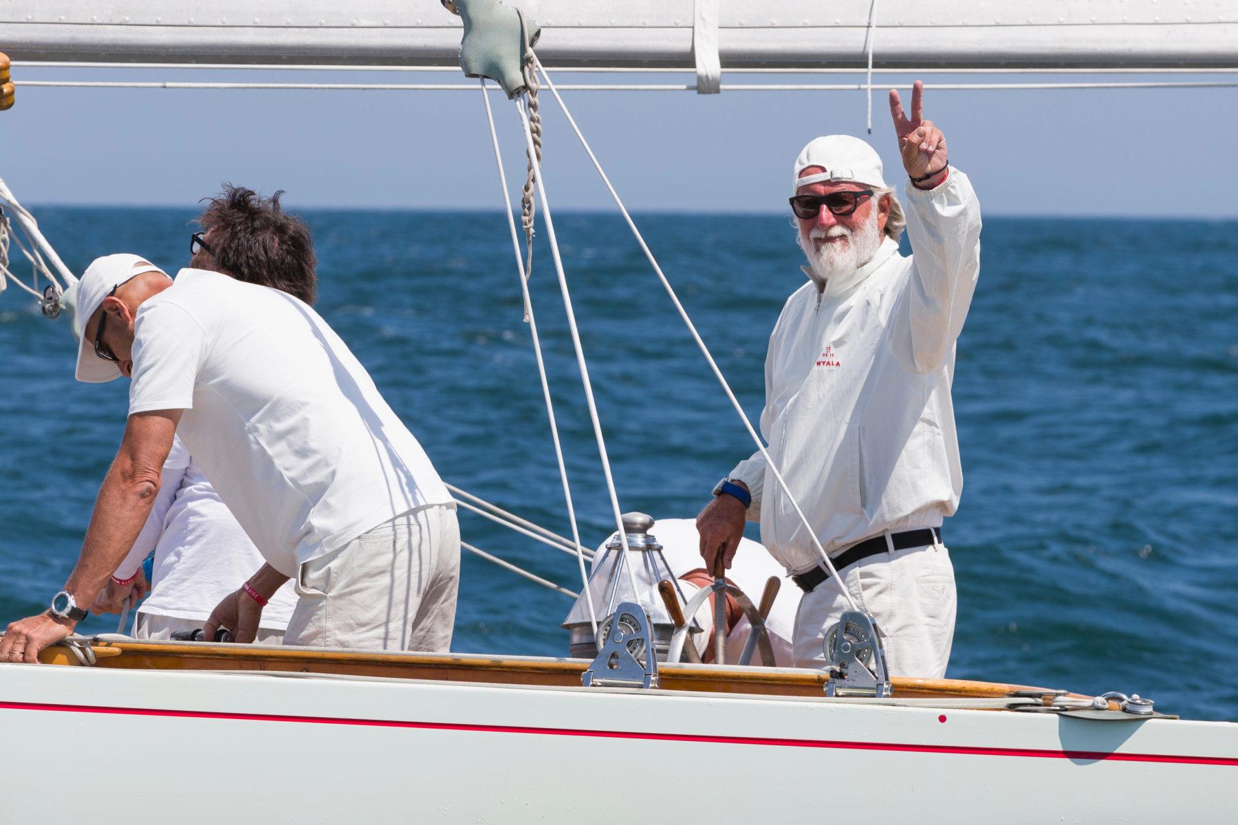 Mauro Pelaschier vittorioso al Mondiale 12m S.I. di Newport R.I. - NEWS - Yacht Club Costa Smeralda