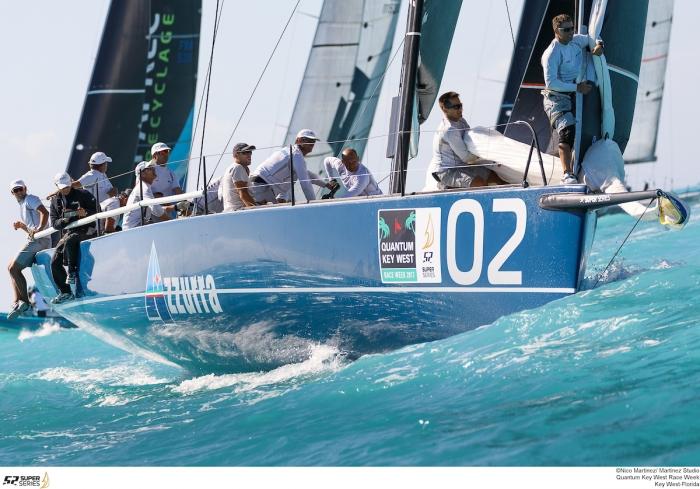 AZZURRA AL COMANDO DELLA 52 SUPER SERIES KEY WEST - NEWS - Yacht Club Costa Smeralda