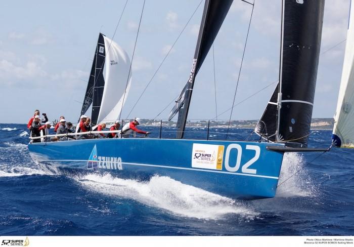 AZZURRA IS READY FOR THE GRAN FINALE OF THE 52 SUPER SERIES IN MENORCA - NEWS - Yacht Club Costa Smeralda