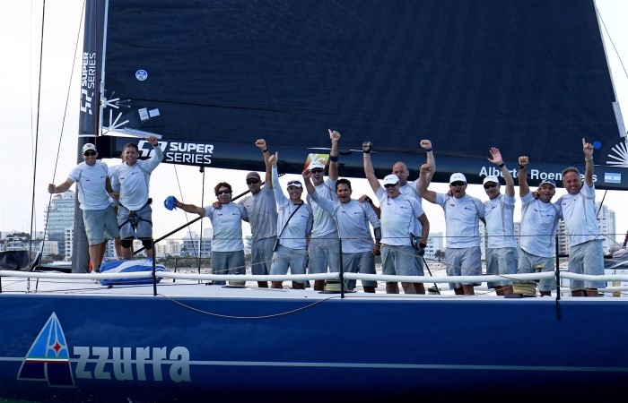 AZZURRA VINCE LA MIAMI ROYAL CUP, SECONDO EVENTO DELLA 52 SUPER SERIES - NEWS - Yacht Club Costa Smeralda