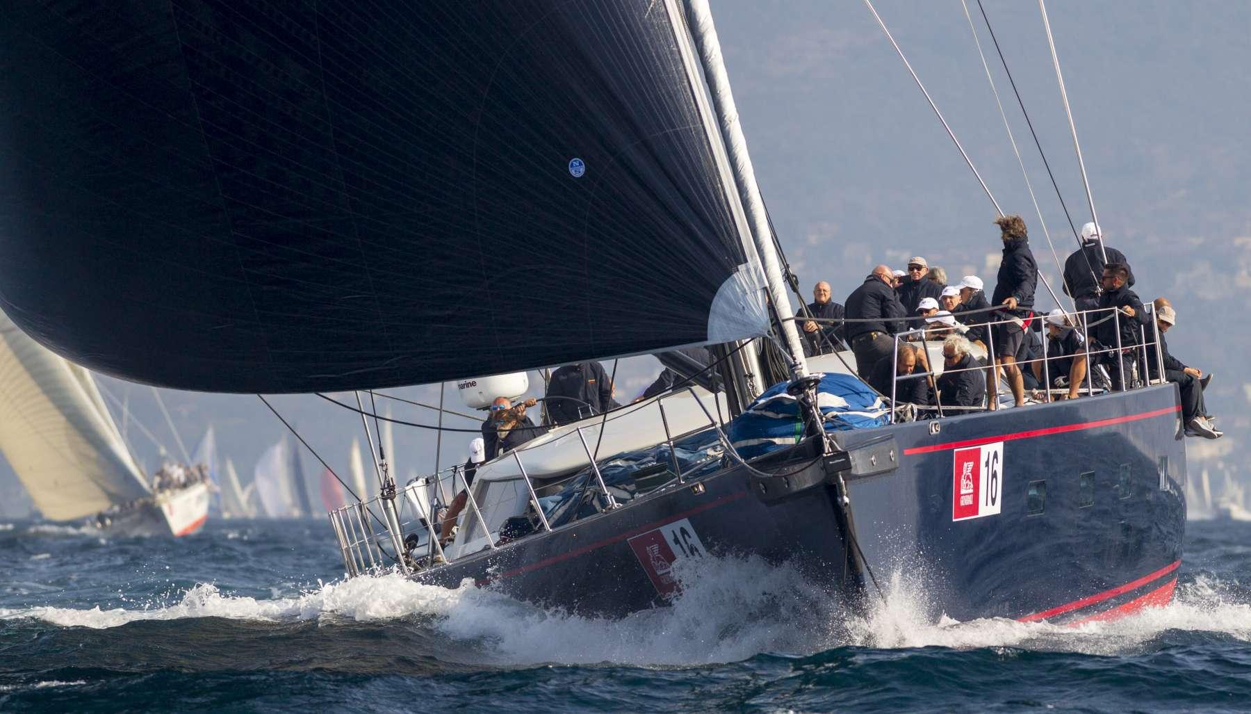 Eccellente prestazione di Viriella alla Barcolana - NEWS - Yacht Club Costa Smeralda