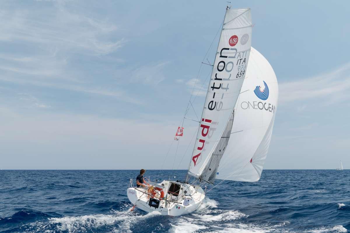 Audi sostiene Daniele Nanni, testimonial One Ocean per il progetto Mini Transat 2019 - NEWS - Yacht Club Costa Smeralda
