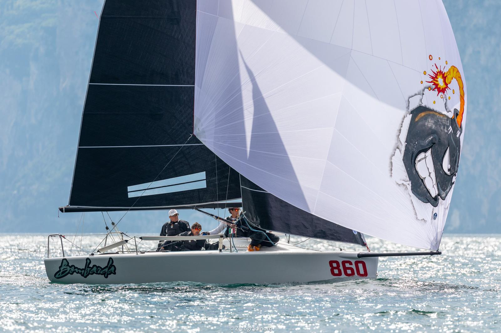 Bronzo per Bombarda Racing nella Melges 24 - NEWS - Yacht Club Costa Smeralda