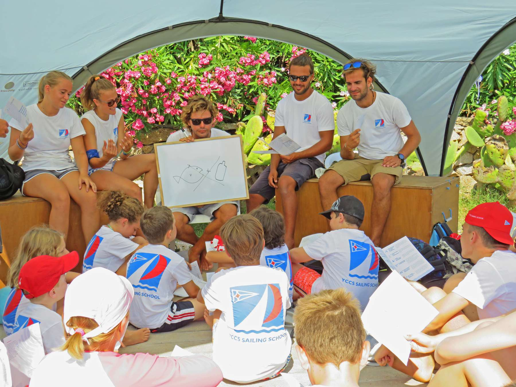 Secondo YCCS Clean Beach Day con la Scuola Vela del Club - NEWS - Yacht Club Costa Smeralda