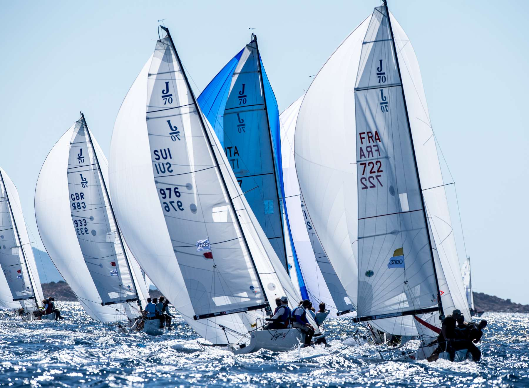 Audi J/70 World Championship in the December episode of The World Sailing Show - NEWS - Yacht Club Costa Smeralda