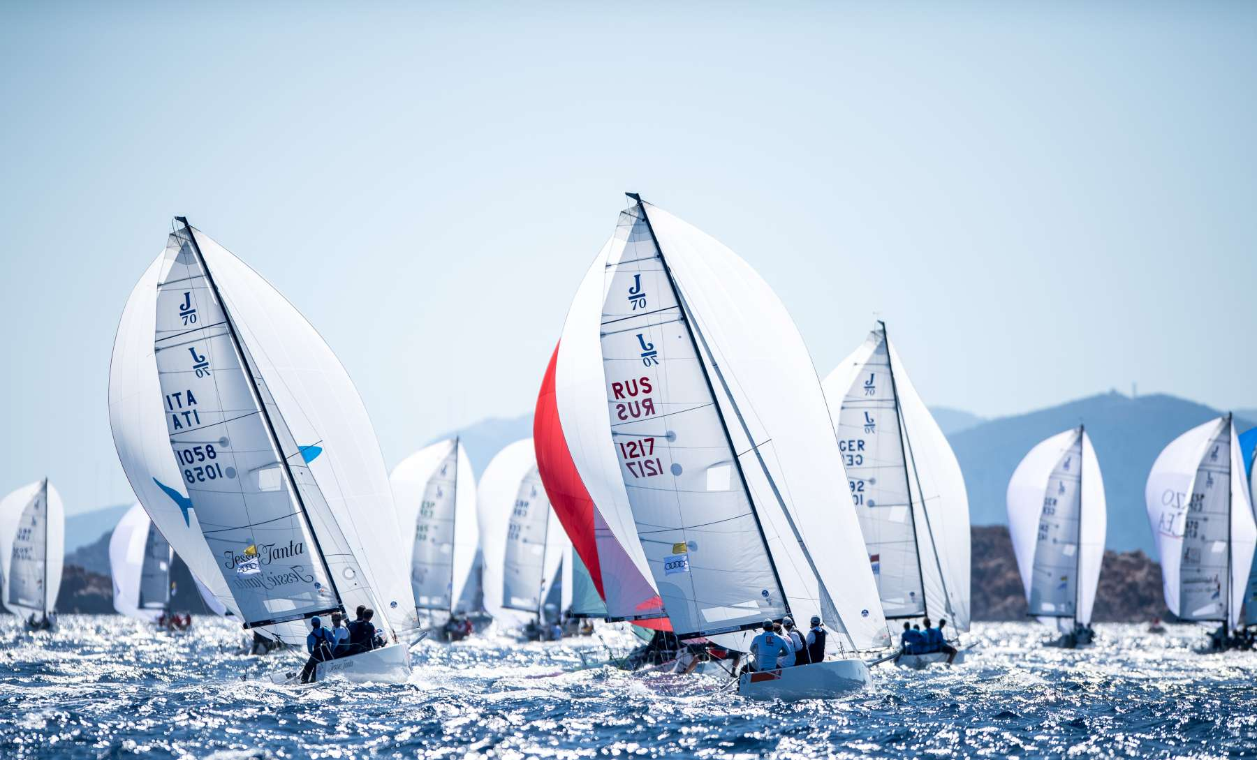 Audi J/70 World Championship - Video Day 3 online - NEWS - Yacht Club Costa Smeralda