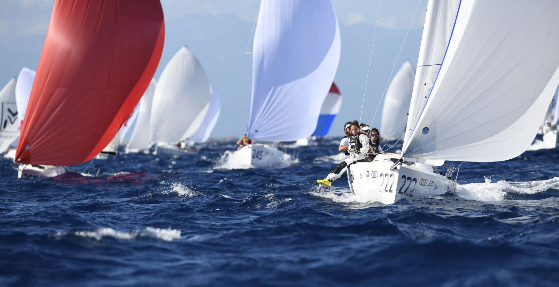 Il team Petite Terrible in rappresentanza dello YCCS alla finale LIV - NEWS - Yacht Club Costa Smeralda