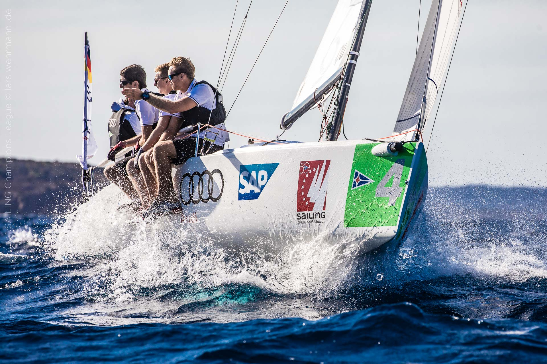 Audi Sailing Champions League Final - Images Race Day 1 online - NEWS - Yacht Club Costa Smeralda