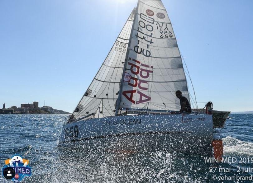 Mini Transat: Daniele Nanni continues transatlantic crossing - NEWS - Yacht Club Costa Smeralda