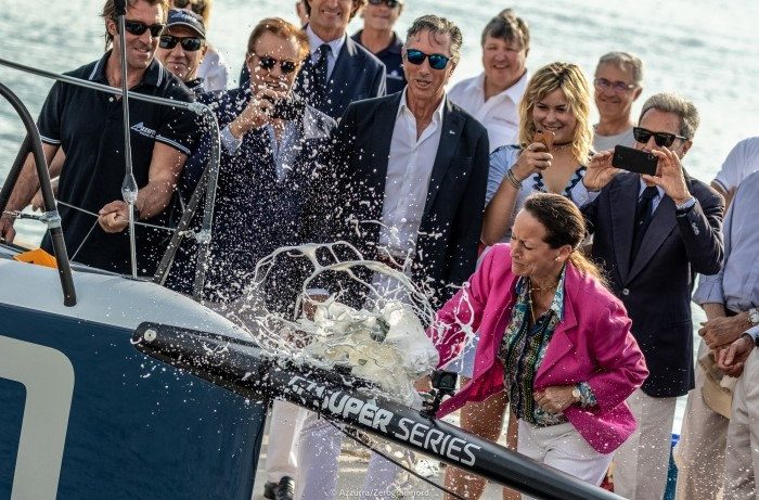 THE NEW TP52 VERSION OF AZZURRA IS BAPTISED ON THE EVE OF THE 52 SUPER SERIES - NEWS - Yacht Club Costa Smeralda