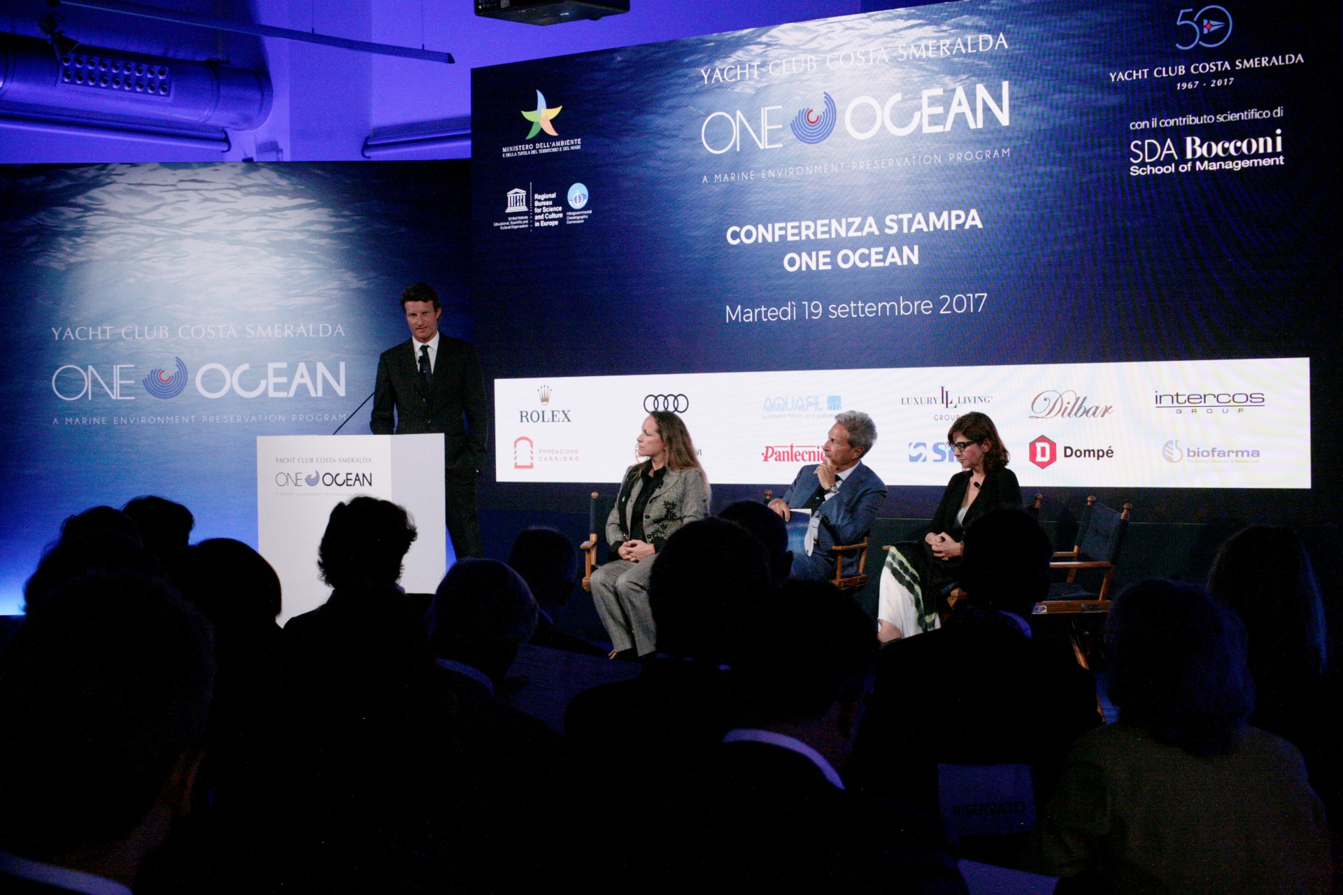 Press Conference One Ocean Forum - NEWS - Yacht Club Costa Smeralda