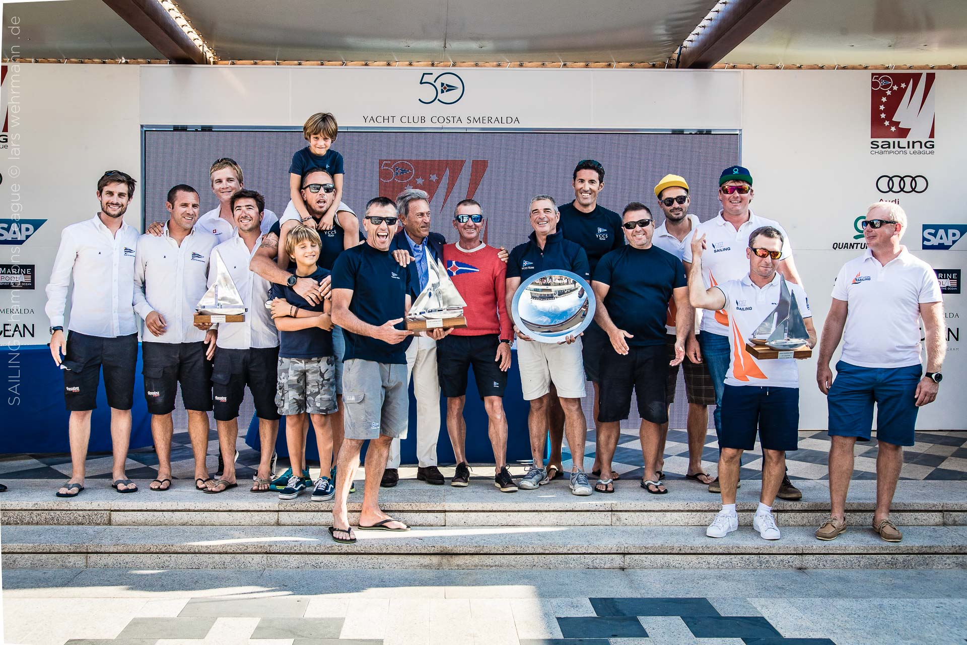 Audi Sailing Champions League Final - Images Final day online - NEWS - Yacht Club Costa Smeralda