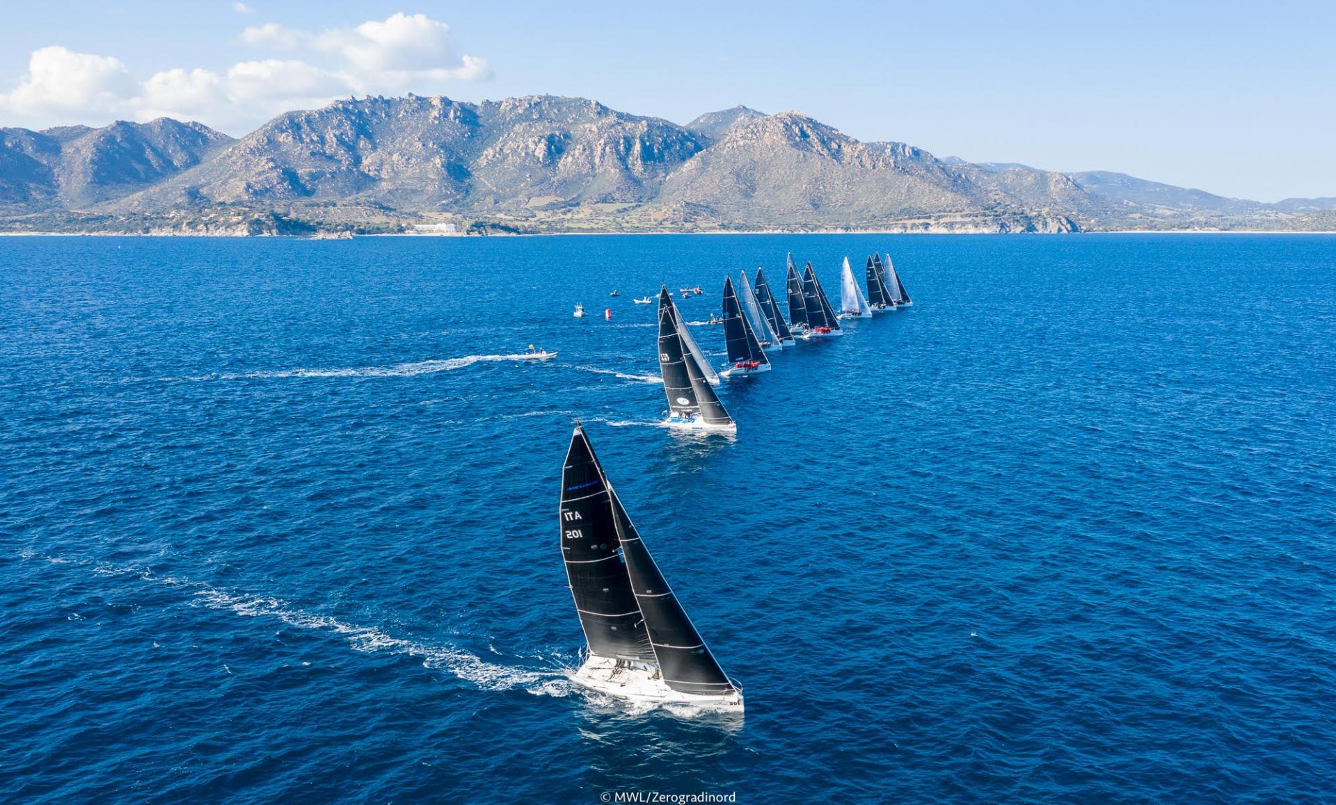 Conclusa la Melges 20 World League European Division - NEWS - Yacht Club Costa Smeralda
