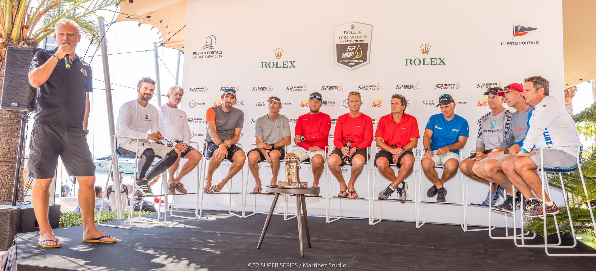 YCCS Members at Rolex TP52 World Championship - NEWS - Yacht Club Costa Smeralda