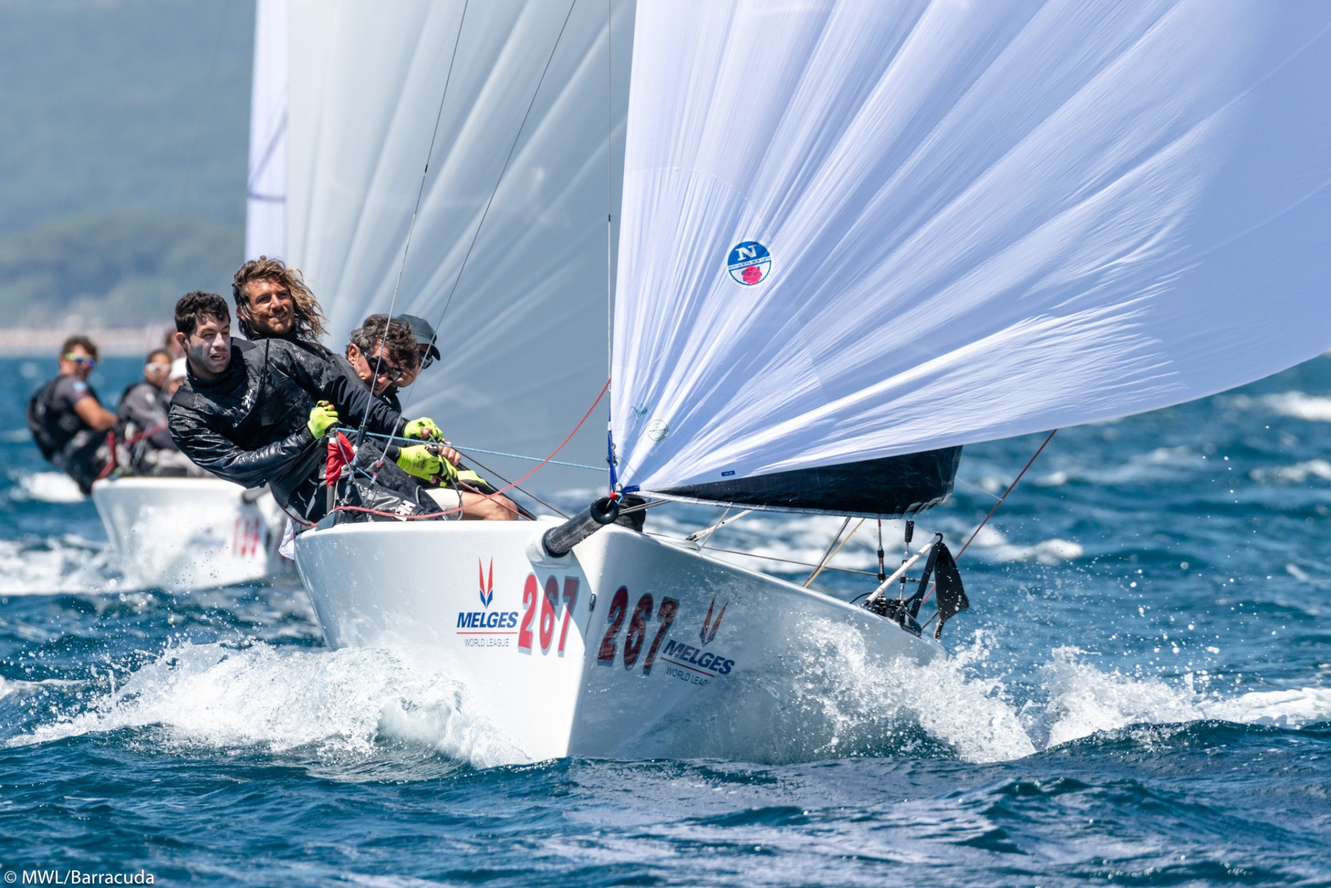 YCCS members at the Melges 20 World League - NEWS - Yacht Club Costa Smeralda