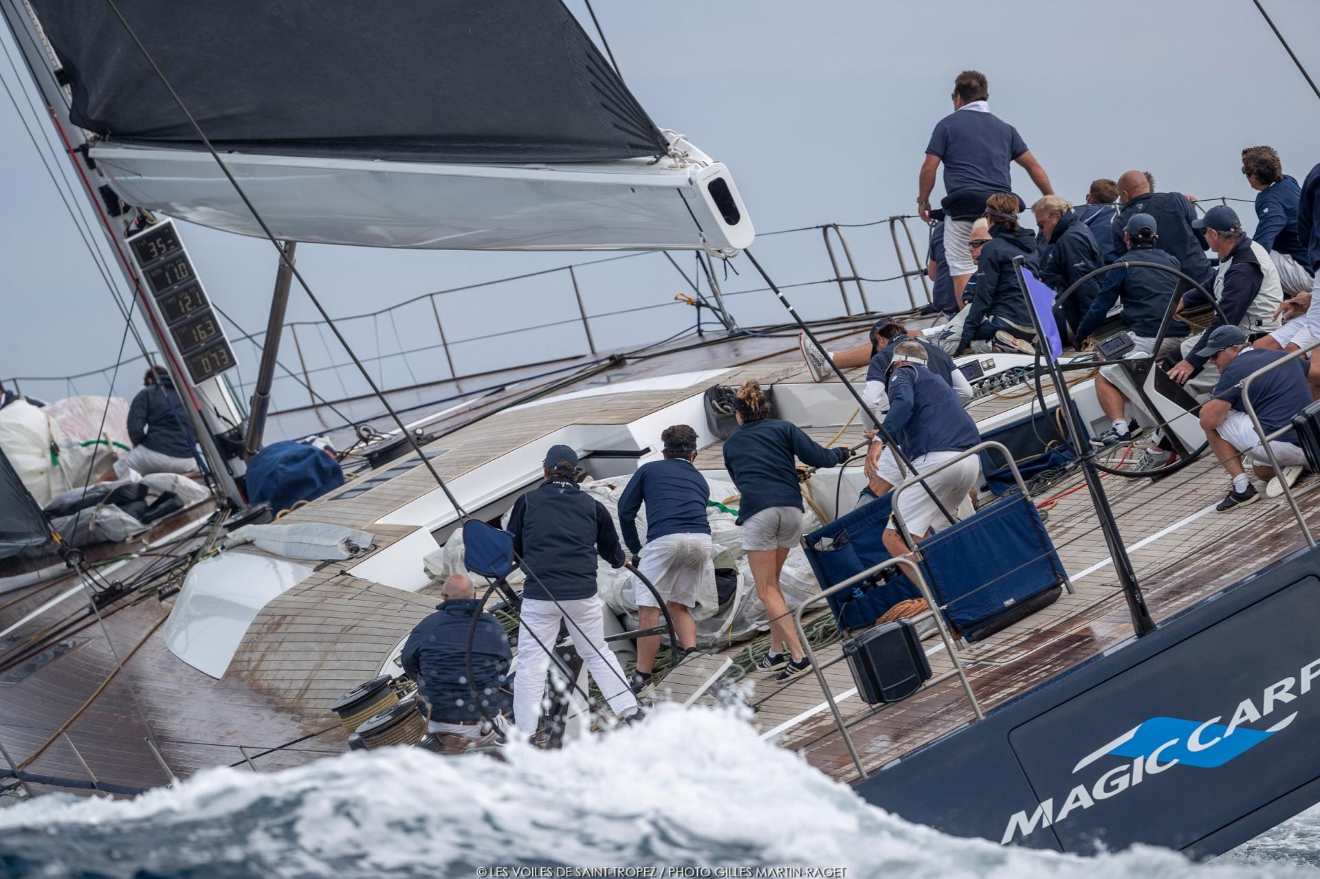 Congratulations to Magic Carpet 3 on victory at Les Voiles de Saint-Tropez - NEWS - Yacht Club Costa Smeralda