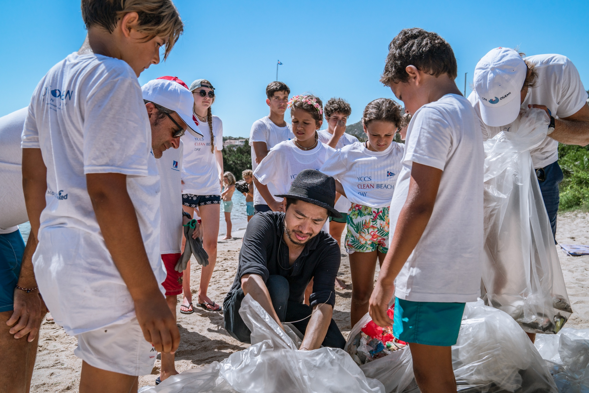 A day dedicated to sustainability for the youths of the  YCCS Sailing School - NEWS - Yacht Club Costa Smeralda