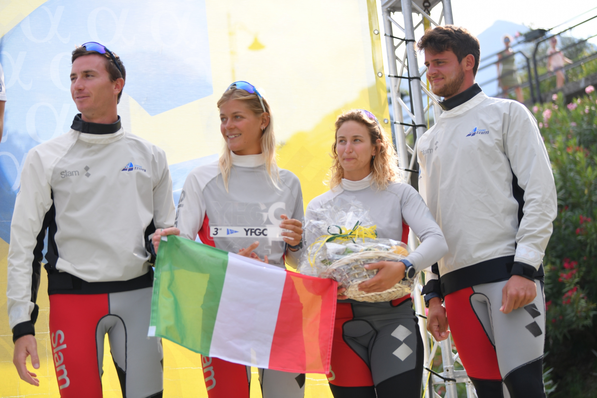 Young Azzurra terza alla Youth Foiling Gold Cup Act 2 - NEWS - Yacht Club Costa Smeralda