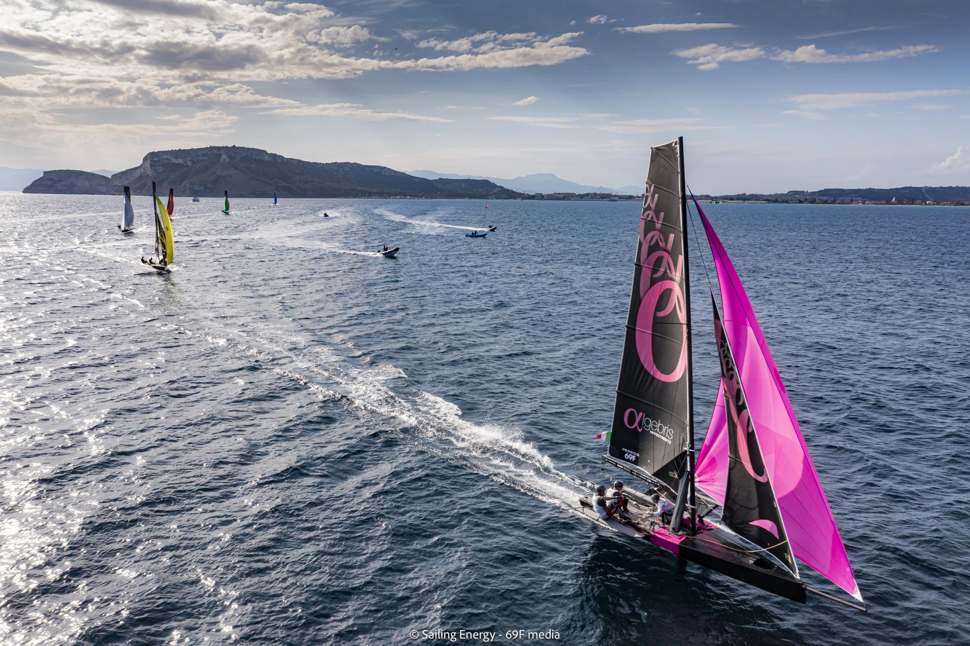 Young Azzurra conclude al secondo posto le qualifiche della Youth Foiling Gold Cup Act 3 - NEWS - Yacht Club Costa Smeralda