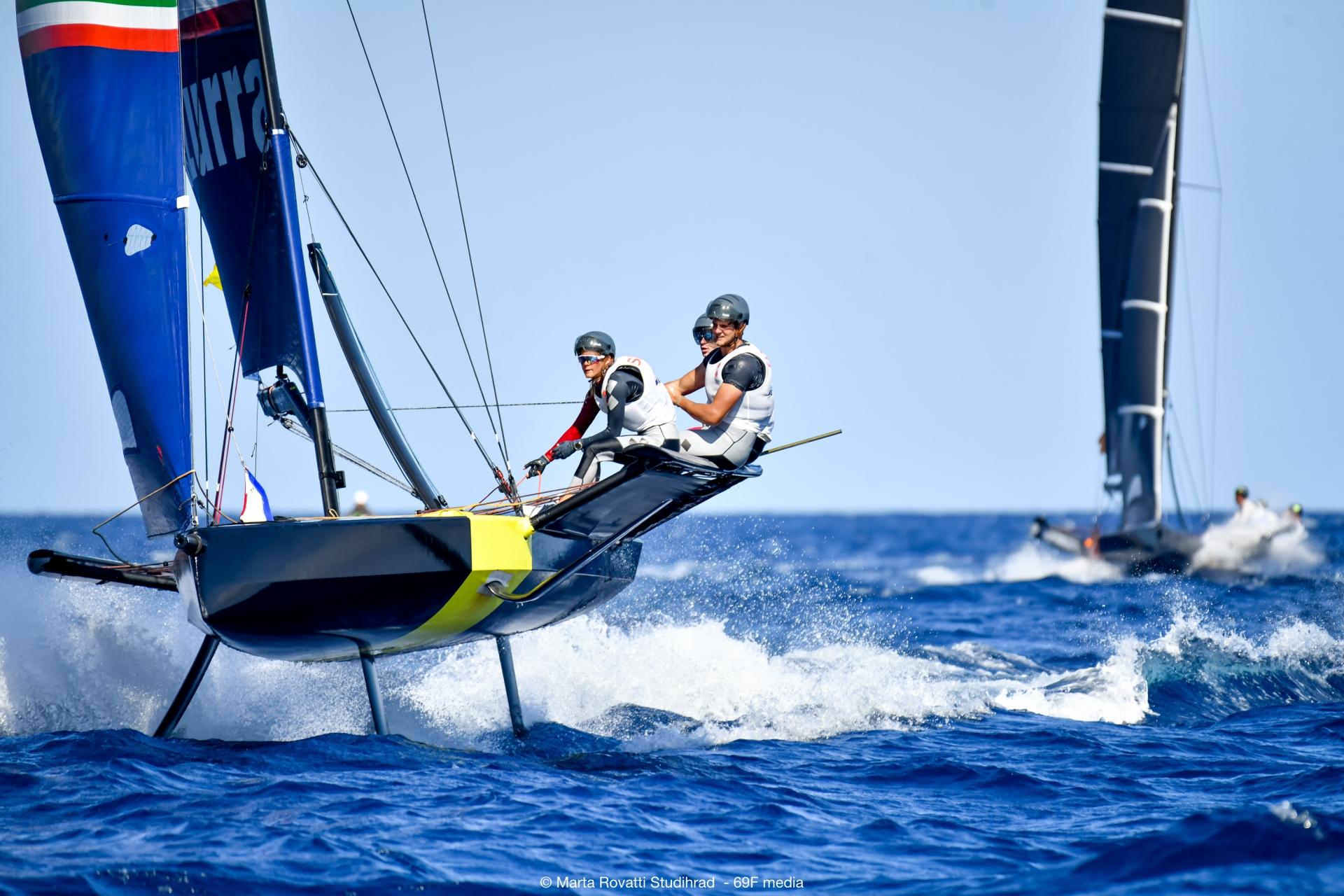 Young Azzurra pronta per la tappa finale della Youth Foiling Gold Cup - NEWS - Yacht Club Costa Smeralda