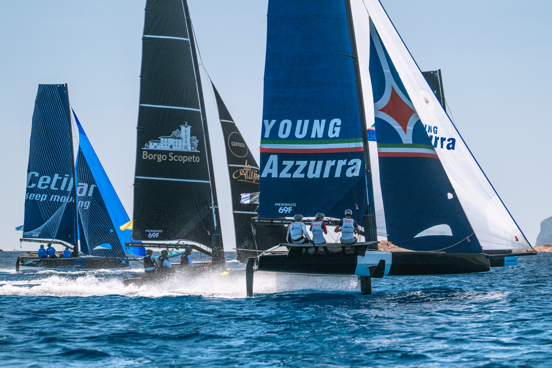 Young Azzurra alla Youth Foiling Gold Cup Act 2 - MEMBER NEWS - Yacht Club Costa Smeralda