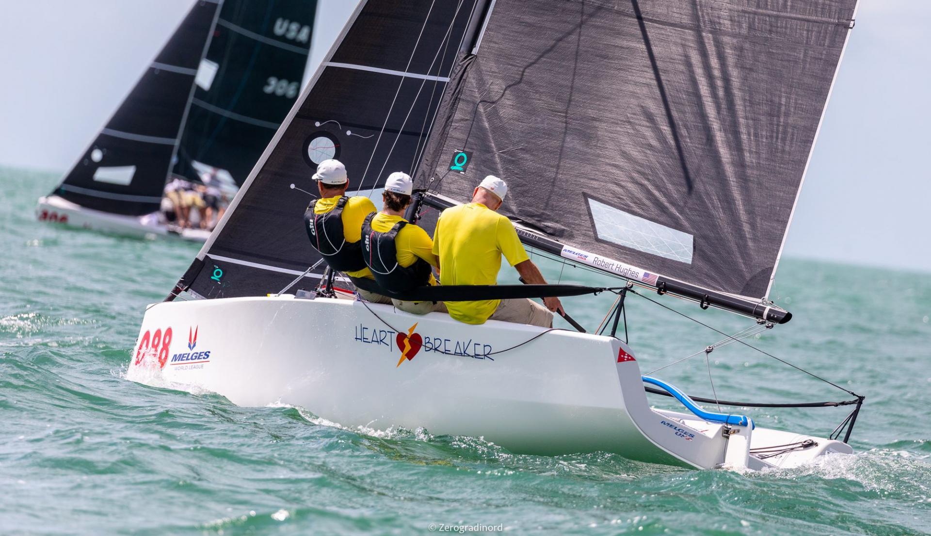 Il Socio Michetti secondo su Heart Breaker al Melges 20 Worlds  - NEWS - Yacht Club Costa Smeralda