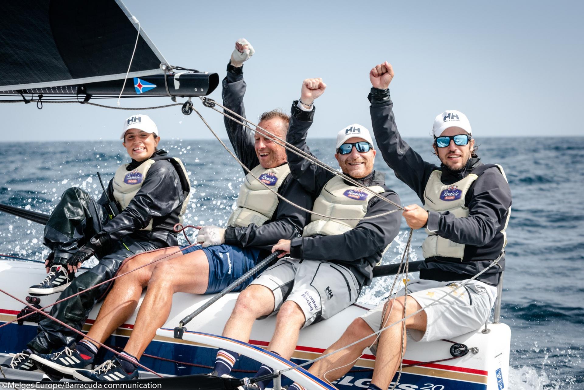 Il socio YCCS Pacinotti è Campione Europeo Melges 20 - NEWS - Yacht Club Costa Smeralda