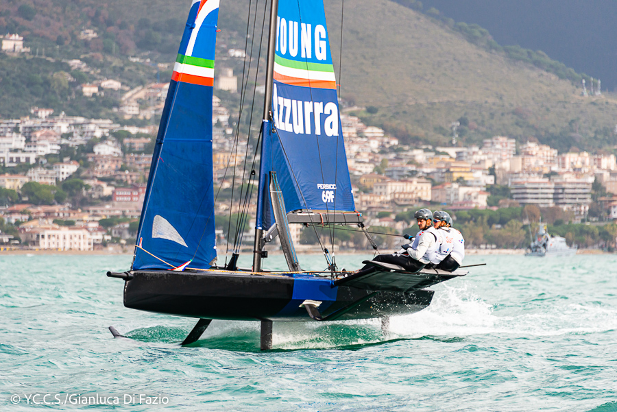 Youth Foiling Gold Cup: Tight rankings after first day of finals - MEMBER NEWS - Yacht Club Costa Smeralda