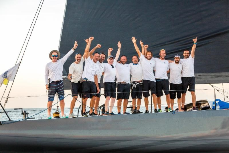 Teasing Machine is the overall winner of the AAR - NEWS - Yacht Club Costa Smeralda
