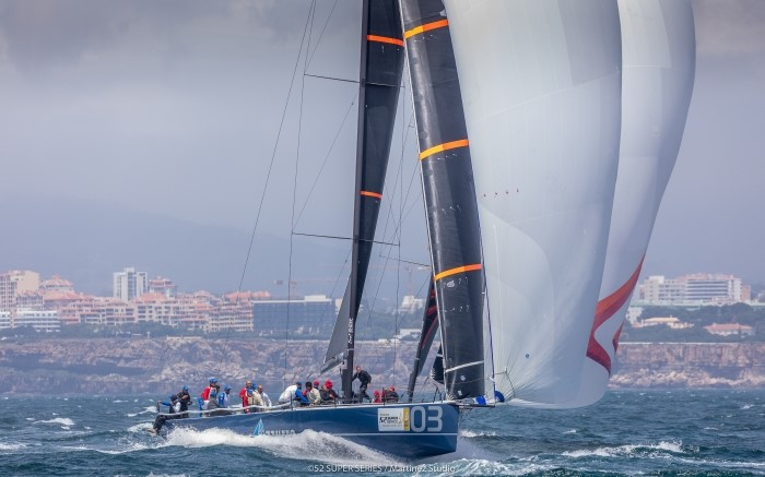 AZZURRA IS FIGHTING TO HOLD ON TO HER TOP POSITION IN PORTUGAL - NEWS - Yacht Club Costa Smeralda