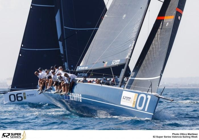 Azzurra sul podio della 52 super series 2018 - NEWS - Yacht Club Costa Smeralda