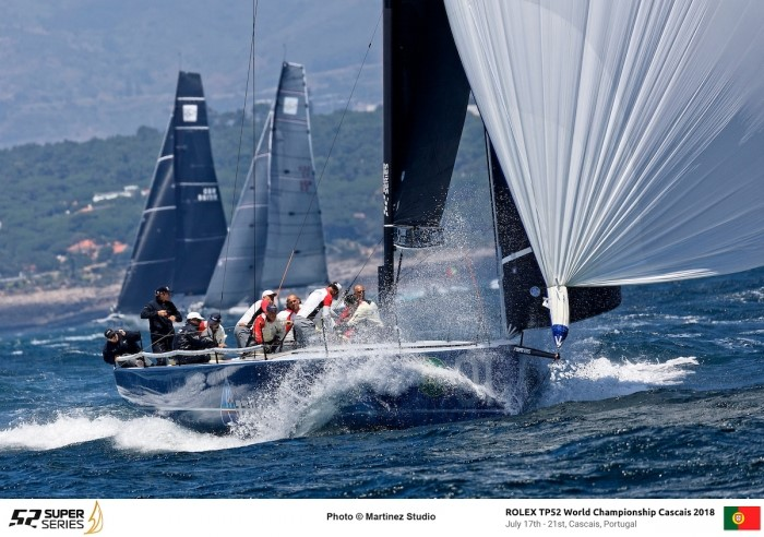 AZZURRA TAKES THE LEAD AT THE ROLEX TP52 WORLD CHAMPIONSHIP - NEWS - Yacht Club Costa Smeralda