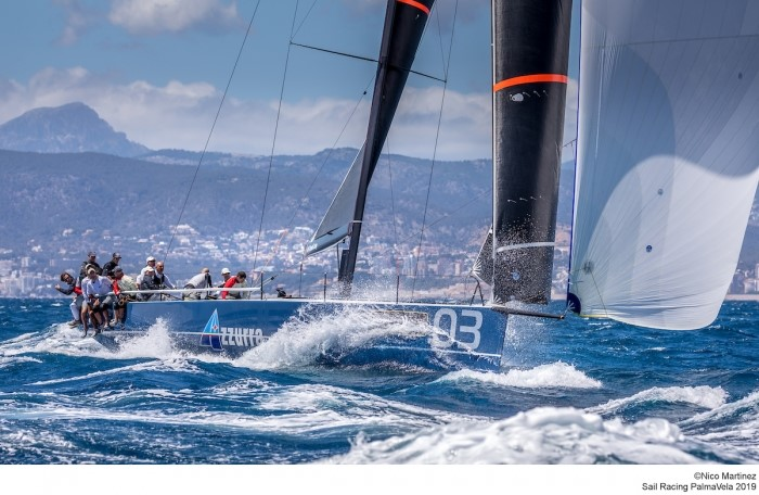 AZZURRA IS ON THE PODIUM AT PALMAVELA AFTER AN EXCELLENT RECOVERY - NEWS - Yacht Club Costa Smeralda