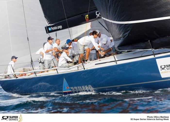 Azzurra e' al vertice dopo il primo giorno della valencia 52 super series - NEWS - Yacht Club Costa Smeralda