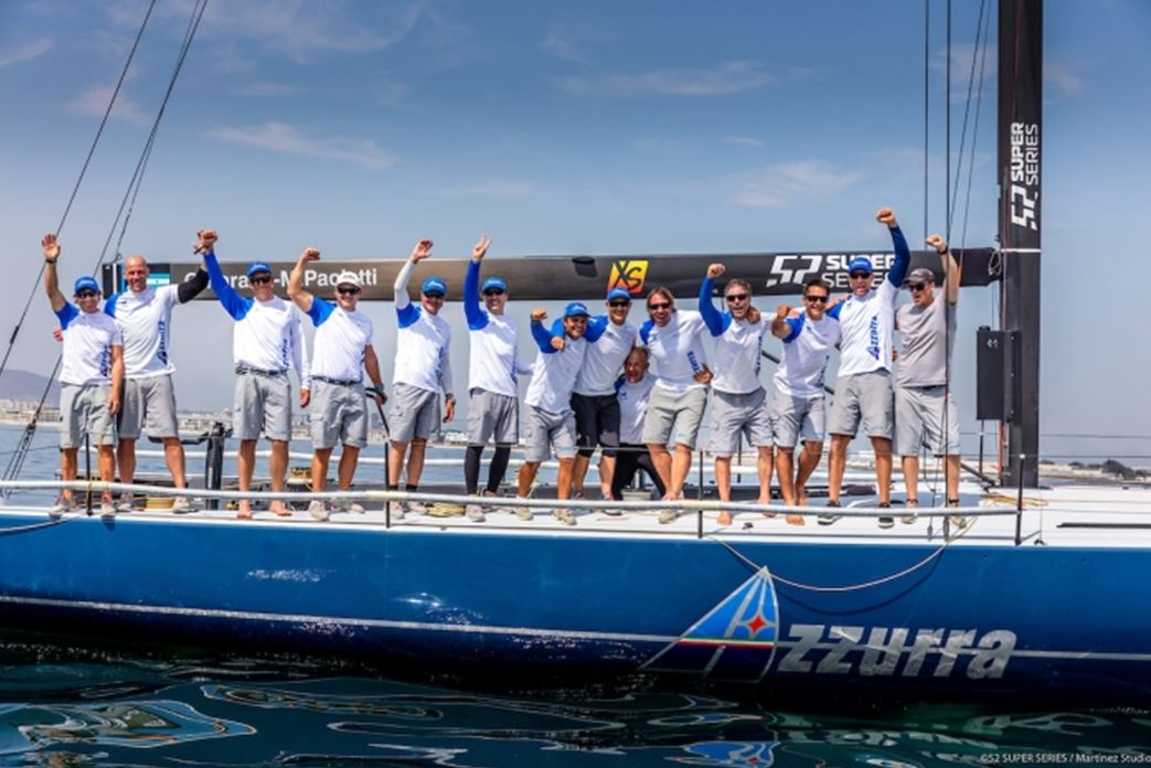 Azzurra wins the first event in the 52 Super Series 2020 in Cape Town - NEWS - Yacht Club Costa Smeralda