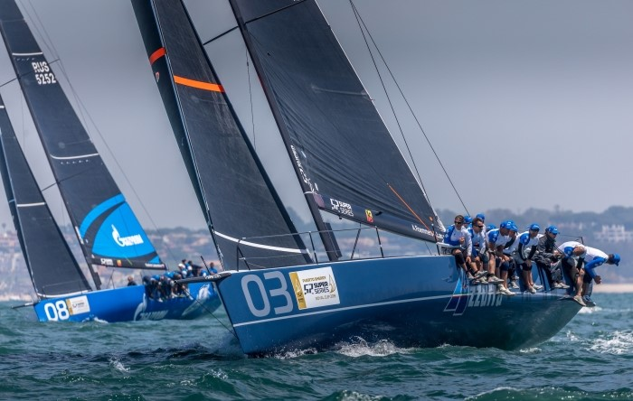 Azzurra ends the Puerto Sherry 52 Super Series Royal Cup in second place - NEWS - Yacht Club Costa Smeralda