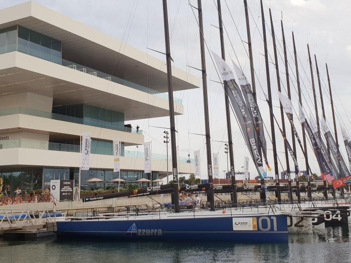 Azzurra a valencia per la tappa finale della 52 super series - NEWS - Yacht Club Costa Smeralda
