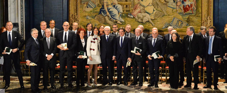 Lo YCCS si congratula con i Soci Francesco Casoli e Laura Calissoni nominati Cavalieri del Lavoro - NEWS - Yacht Club Costa Smeralda