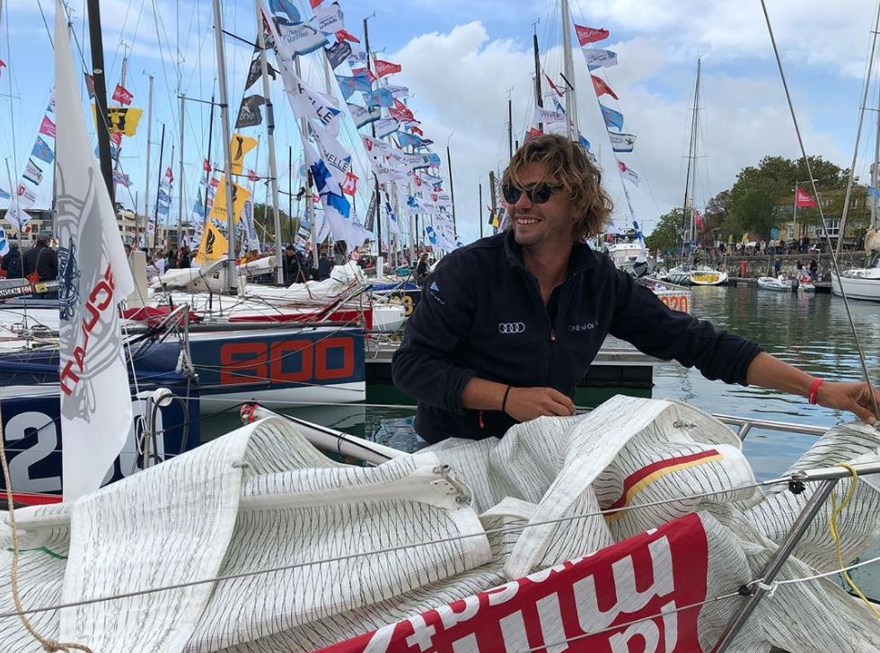 Daniele Nanni sets off on Mini Transat 2019  - NEWS - Yacht Club Costa Smeralda
